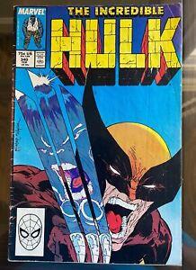 Incredible Hulk #340 vs. Wolverine Todd McFarlane Cover - Very Good