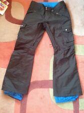 Burton Cargo Insulated Snowboard or ski pants. Goretex Women's XS.