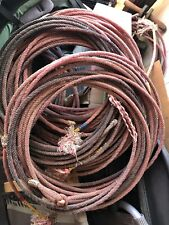 Used team roping ropes lariat, lot of 3
