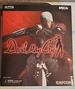 """NECA Devil May Cry DANTE 7"""" Action Figure - Used displayed"""