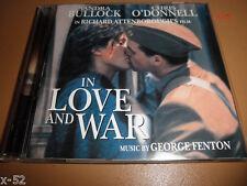 Sandra Bullock IN LOVE AND WAR soundtrack CD score GEORGE FENTON ost attenboroug