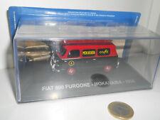 EAGLEMOSS FIAT 600 FURGONE MOKARABIA 1958 SCALA 1/43