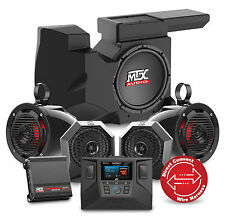 MTX RZRSYSTEM3 Four Speaker, Dual Amplifier, and Single Subwoofer Polaris RZR