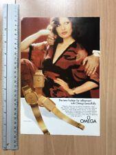 Omega / British Airways 1975 Advertisement Pub Ad Werbung