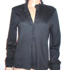 Chaps Sexy Women's Loose Sheer Top Long Sleeve Shirt New Fashion Casual Blouse