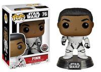 Star Wars:The Force Awakens Finn as a Stormtrooper Funko Pop Brand New Limited