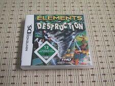 Elements of Destruction per Nintendo DS, DS Lite, DSi XL, 3ds