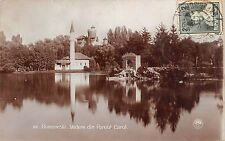 B76438 Romania Bucuresti Giamia din Parcul Carol real photo Geamia