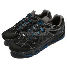 Merrell Agility Peak Flex Black Blue Men Running Shoes Trainers ML37699