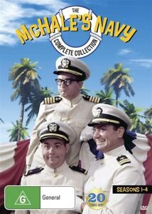 McHale's Navy : Complete Collection - Season 1-4 - NEW / SEALED - 20 Disc Set R4