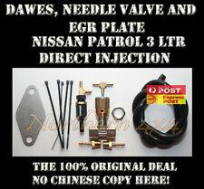 Dawes Valve, Needle valve & EGR plate Nissan GU Patrol ZD30 Direct Injection
