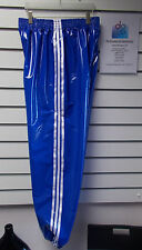 PVC Pantalón De Chándal/Pantalón Chándal Pequeño - XXL AÑOS 70 & 80 ,Azul Blanco
