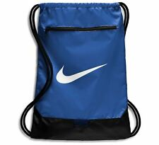 Nike Unisex Drawstring Bag Backpack Small Sports Bag Blue