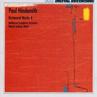 Paul Hindemith (1895-1963) - Orchestral Works 4 CD
