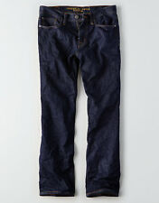 American Eagle Men's Relaxed Straight Jeans - Dark Rinse - 38x30 - NWT
