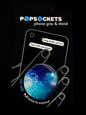 Authentic PopSockets Flow Water Glossy PopSocket Pop Socket Phone Holder Grip