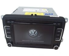 GENUINE OEM VW RCD 510 DAB TOUCHSCREEN 6 DISC MP3/CD CHANGER SD CARD WITH CODE