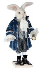 "White Rabbit ""Alice in Wonderland"" Collectible designer doll Exclusive gift Nib"