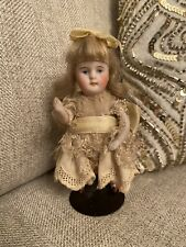 New ListingAll Bisque 4.5� Kestner 184? Antique Doll German All Original Clothes Wig