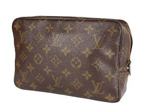 LOUIS VUITTON TROUSSE TOILETTE 23 Monogram Canvas Cosmetic Pouch Bag LP3858