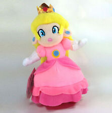 Super Mario Bros. Plush Princess Peach Soft Toy Doll Teddy 7in HOT