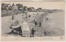 France postcard - Le Havre - La Plage a l'heure des Bains (A64)