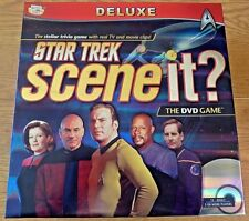 Star Trek Scene It Deluxe DVD Board Game Complete G1