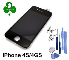 For Apple iPhone 4S LCD Touch Screen Display Digitizer Glass Black With Tools