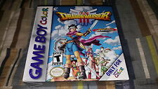 Dragon Warrior III (Nintendo Game Boy Color, 2001) GBC GBA SP New Factory Sealed