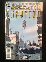 Superman World of New Krypton #1 Variant 2009 DC Comic Book