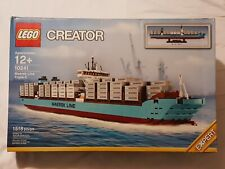 NEW (Read) Lego Creator 10241 Maersk Line Triple-E Container Ship Boat Legos Set
