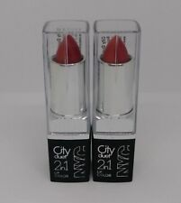 2X NYC City Duet 2in1 Lip Color #426 The Waldorf Roses Lipstick New Sealed Lot