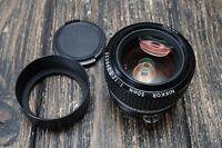 Nikon Nikkor 50 F/1.2 Fast Prime Lens for Nikon F [near MINT]