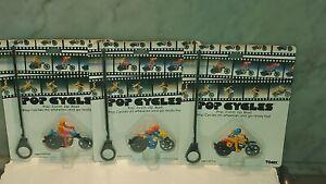 Tomy Pop Cycles  COMPLETE  SET 3 Smash Up Cycle Stunt Vintage Vintage