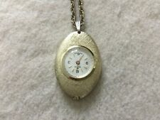 Swiss Made Nelson Vintage Mechanical Wind Up Necklace Pendant Watch