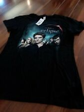 HOT TOPIC: The Twilight Eclipse Cullen Group Line T-shirt - NWT