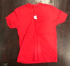 Apple Retail Center Logo Shirt Short Long Sleeve Authentic