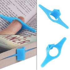 3x Multi-function Thumb Thing Book Page Holder Convenient Bookmark Markers Study
