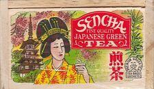 Sencha Japanese Green Tea - 25 Bags - Decorative Box
