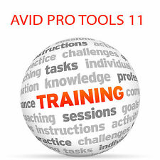 Avid Pro Tools 11-Video Tutorial DVD de entrenamiento