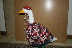 Goose Dress Americana Material