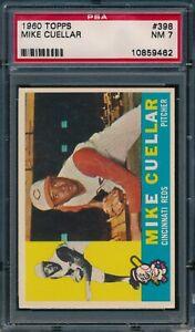 1960 Topps Mike Cuellar #398 PSA 7 NM