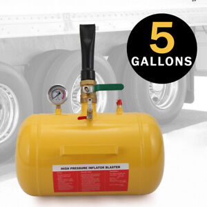 5 Gallon Air Tire Bead Seater Blaster Tool 145 PSI Seating Inflator Truck ATV