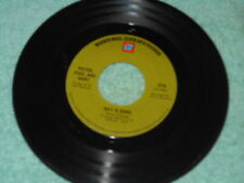 Peter Paul & Mary Day Is Done VG++/Make Believe Town VG++ 1969 Folk 45