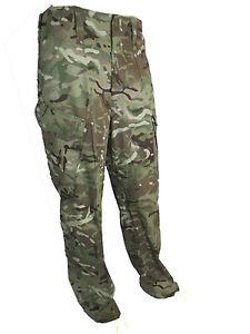 Genuine British Army MTP Trousers Multicam Combat Surplus Various Sizes Grade 1
