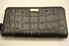 NWT.Ladies kate spade black color leather zip-around wallet
