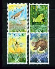 LIECHTENSTEIN,1989WWF Kleinfauna **, FDC, Maximumkarten, (7332 -4)