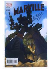 Marville #1 Foil Variant Edition Signed by Bill Jemas Marvel Comics 2002
