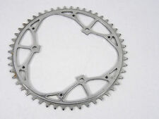 "Williams 50t Chainring 1959 3 BOLT 3/32"" w Holes For Second Chainring Bike NOS"
