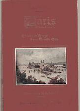 BRISSON PARIS HISTOIRE ET VISAGE D'UNE GRANDE CITE 1934 ILLUS. G. CONRAD